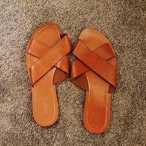 J.Crew Cyprus Leather Sandals